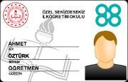 Fotoğraflı MEB Personel Kimlik Kartı (RFID)