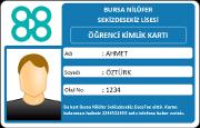 Fotoğraflı Öğrenci Kimlik Kartı (RFID)