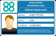 Öğrenci Kimlik Kartı (RFID)
