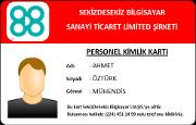 Personel Kimlik Kartı (RFID)