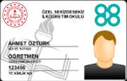 MEB Personel Kimlik Kartı - TC (Plastik)